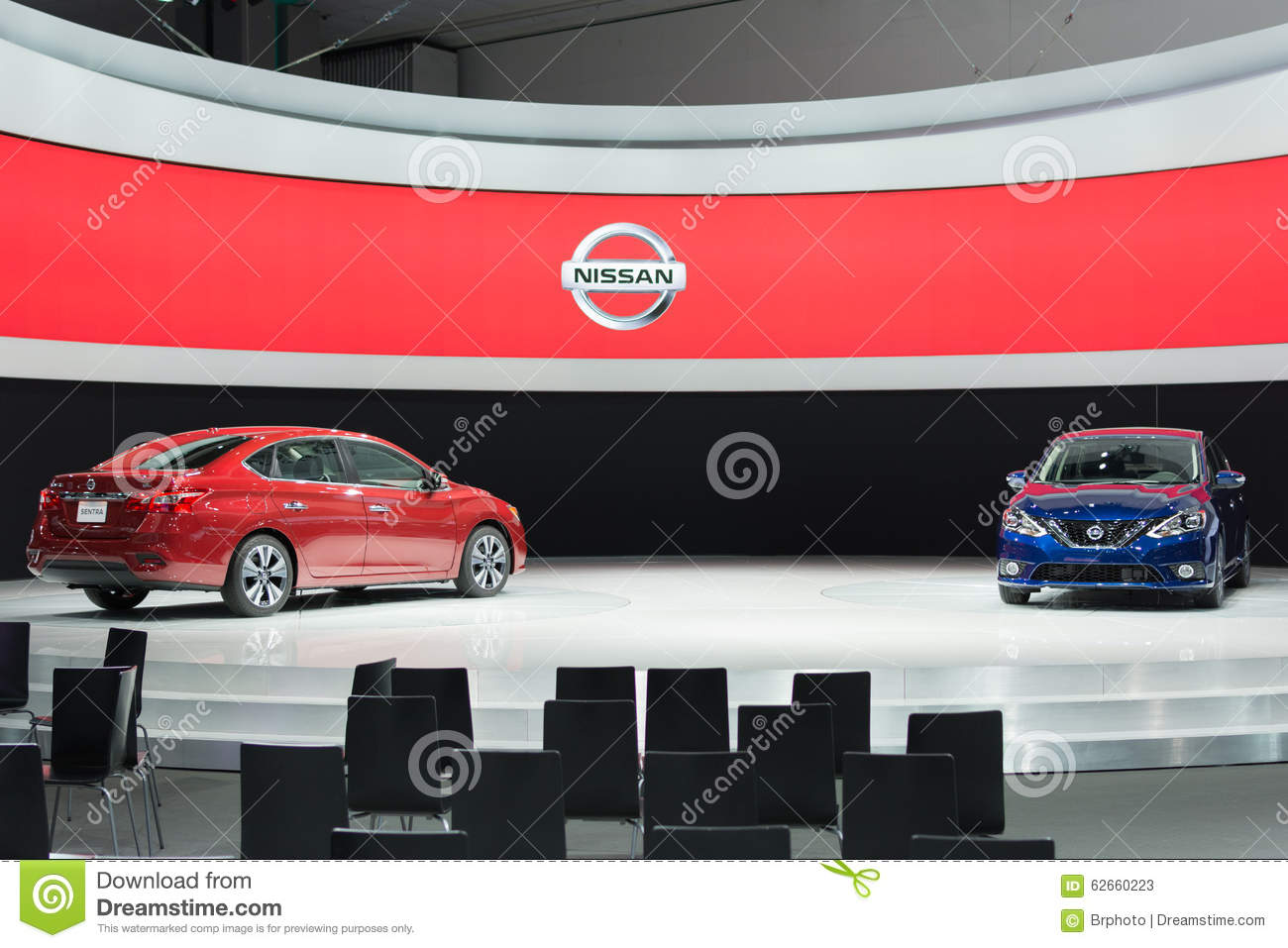 Nissan sentra editorial stock photo image 62660223 for Dream motors los angeles