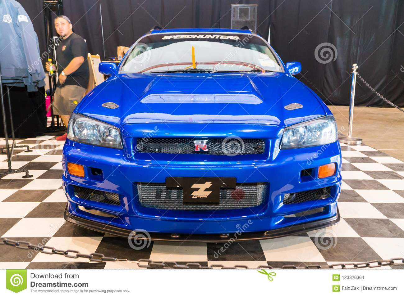 Nissan Skyline R34 Stagea Editorial Stock Image Image Of Front 123326364