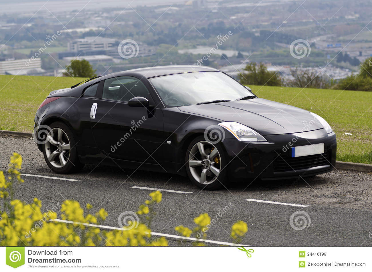 nissan z sports car editorial stock photo - image: 18111483