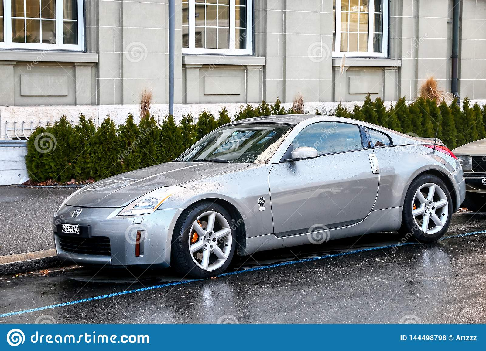 Nissan 350z Editorial Stock Photo Image Of Design Aged 144498798