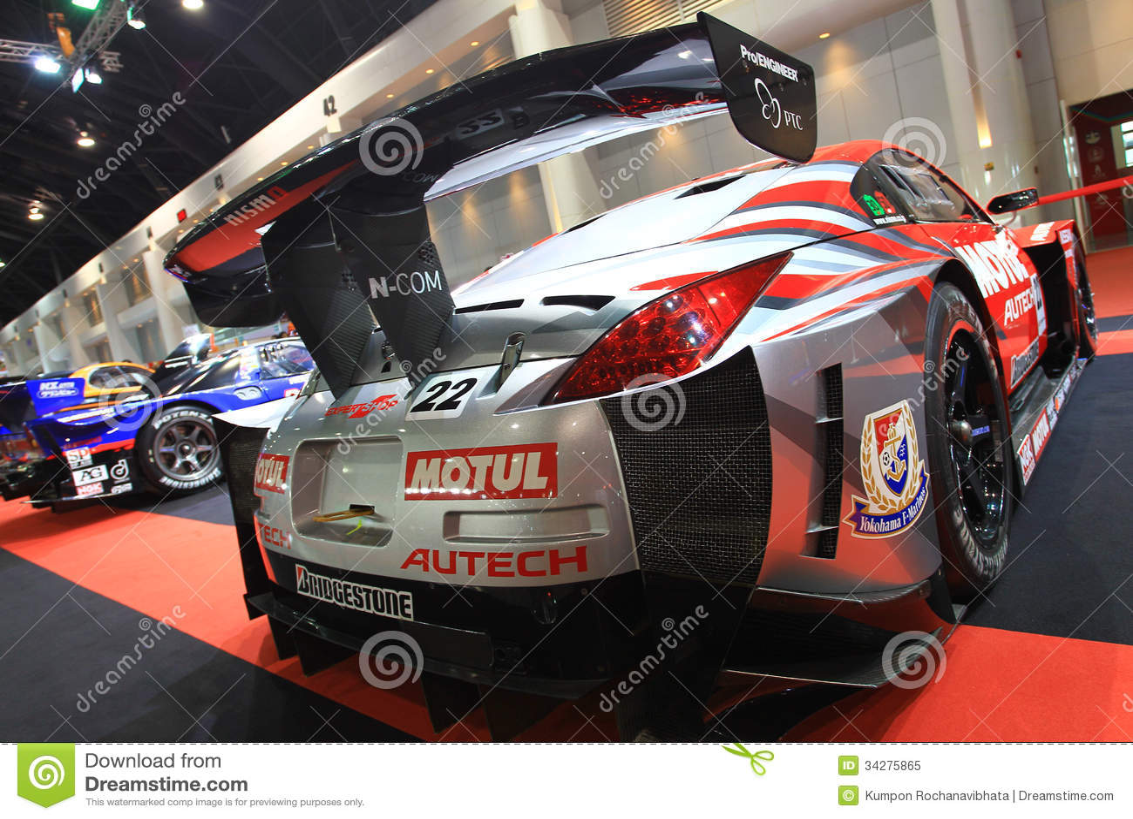 Nissan 350Z GT3 Sport Car Bangkok Auto Salon
