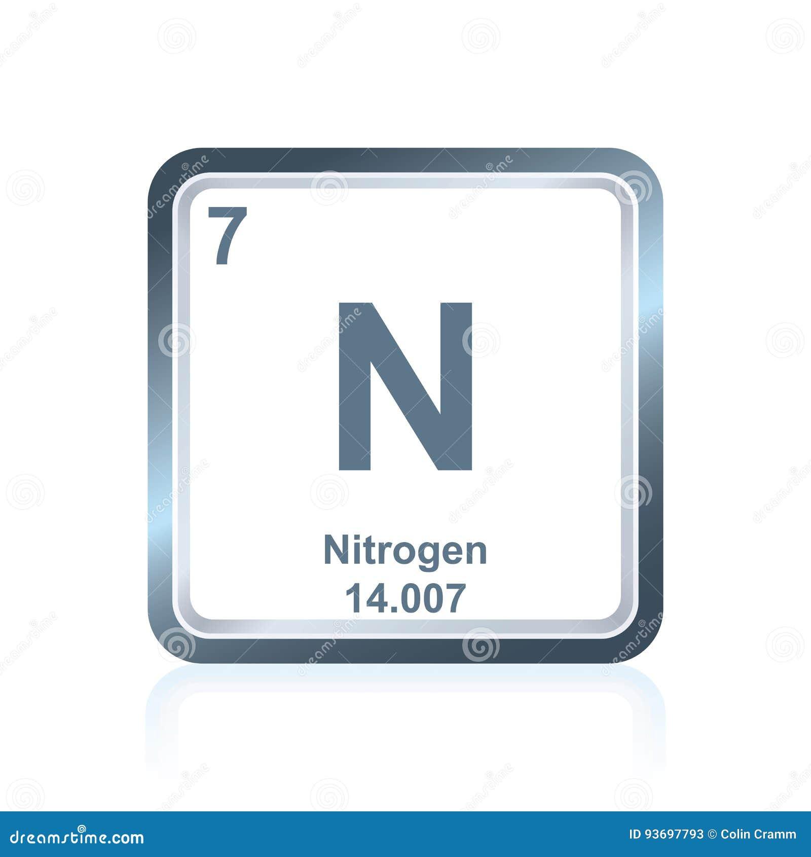 Nitrgeno del elemento qumico de la tabla peridica ilustracin del download nitrgeno del elemento qumico de la tabla peridica ilustracin del vector ilustracin de ciencia urtaz Choice Image