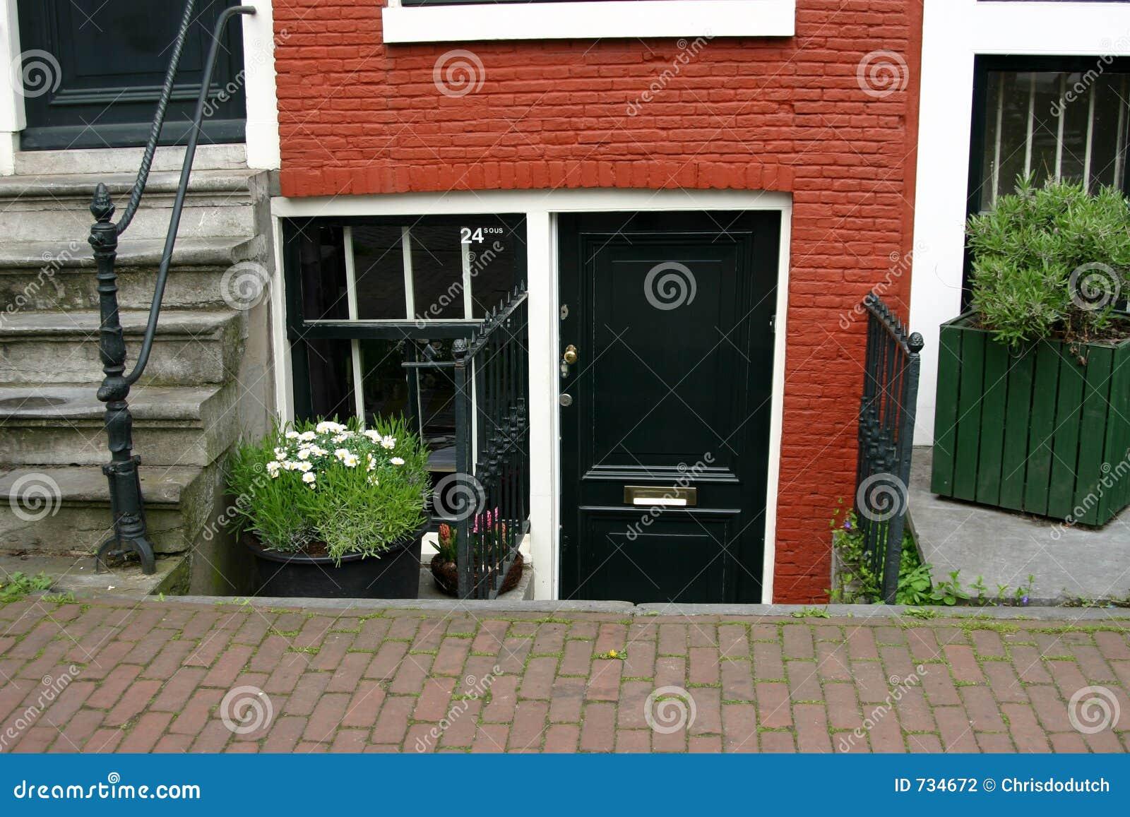 Niveau plus bas de maison d Amsterdam
