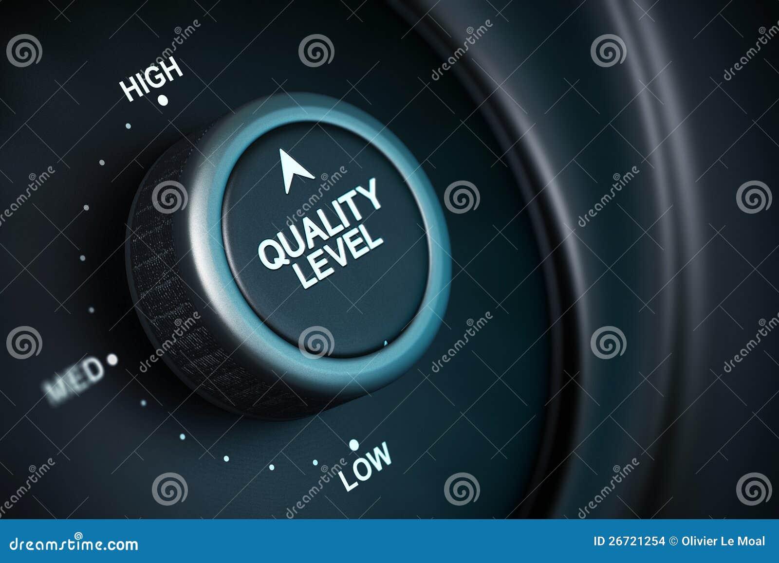 Nivel de la alta calidad
