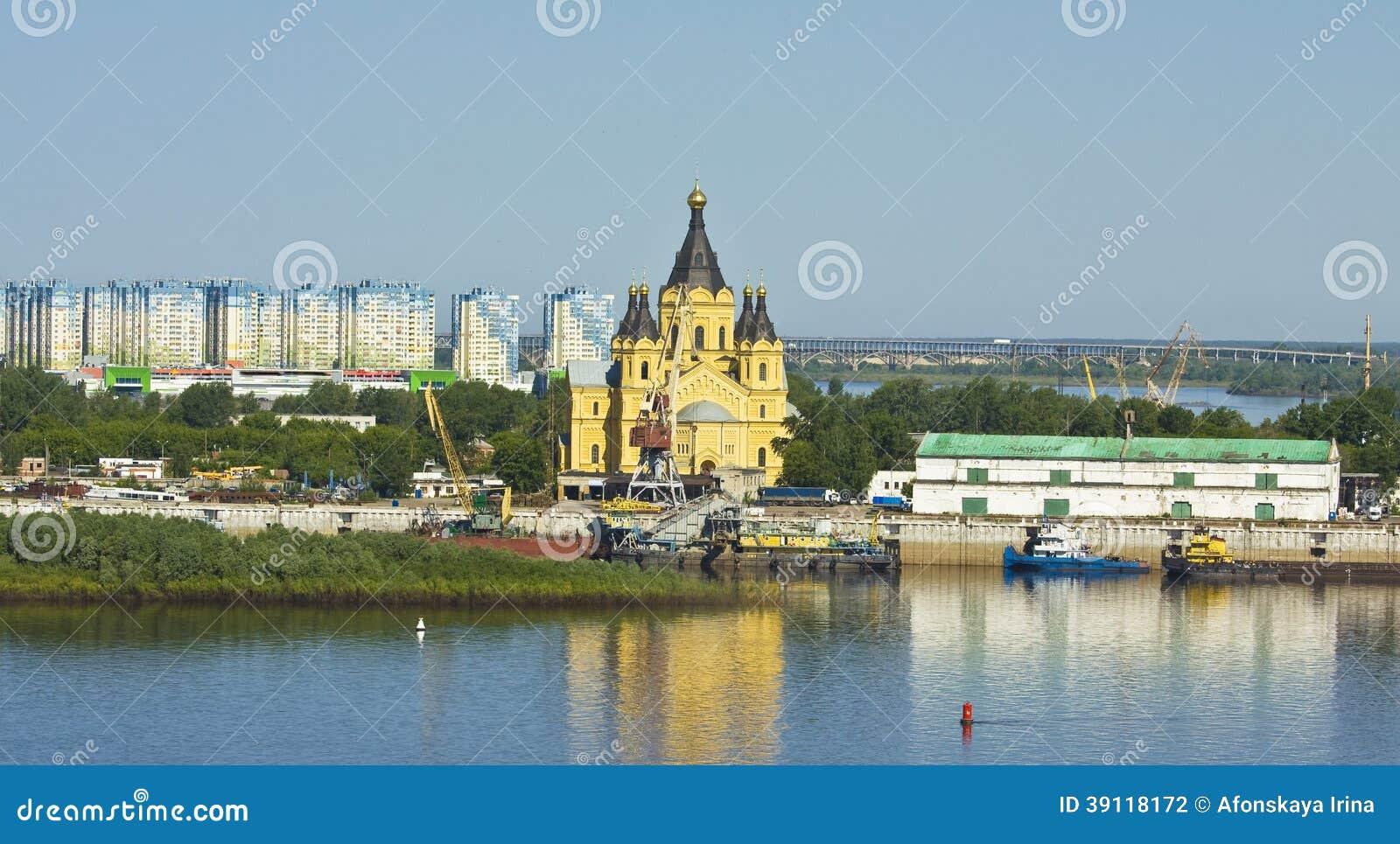 Nizhniy Novgorod, Alexander Nevskiy-kathedraal