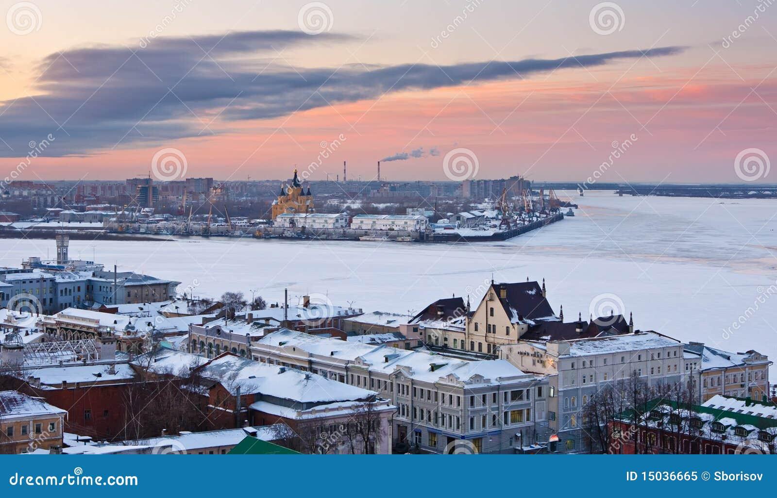 Nizhny Novgorod no inverno