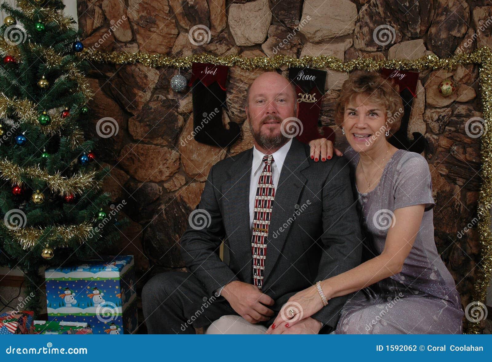 Noël avec les couples heureux