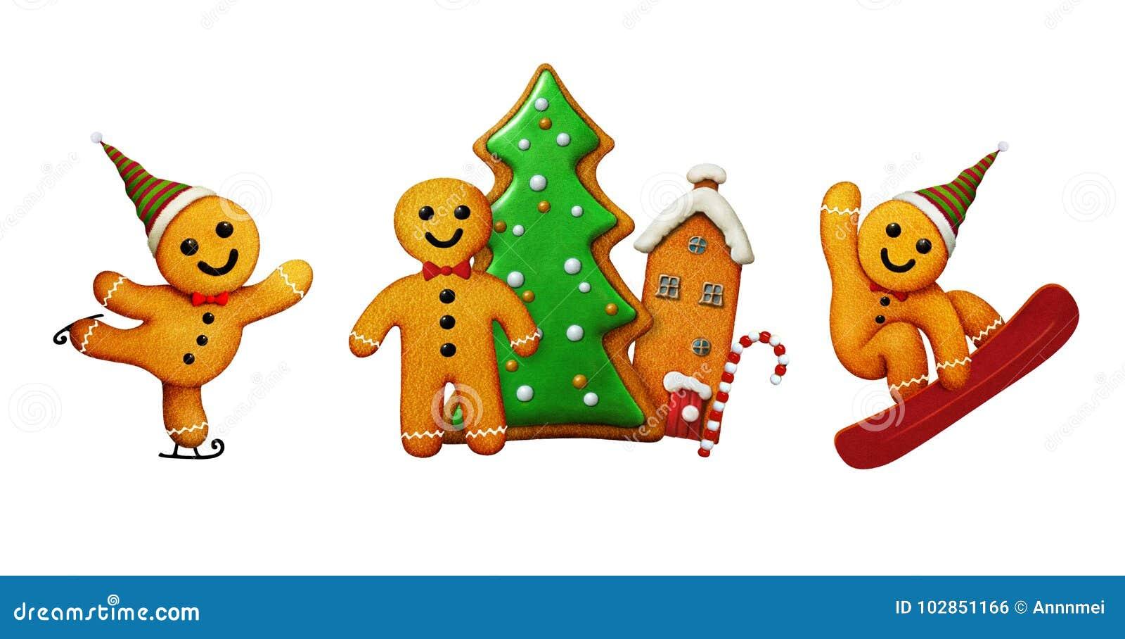 Noël de bonhomme en pain d épice