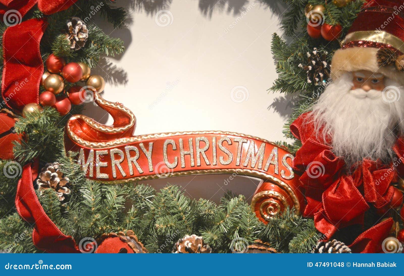 Noël de cadre joyeux