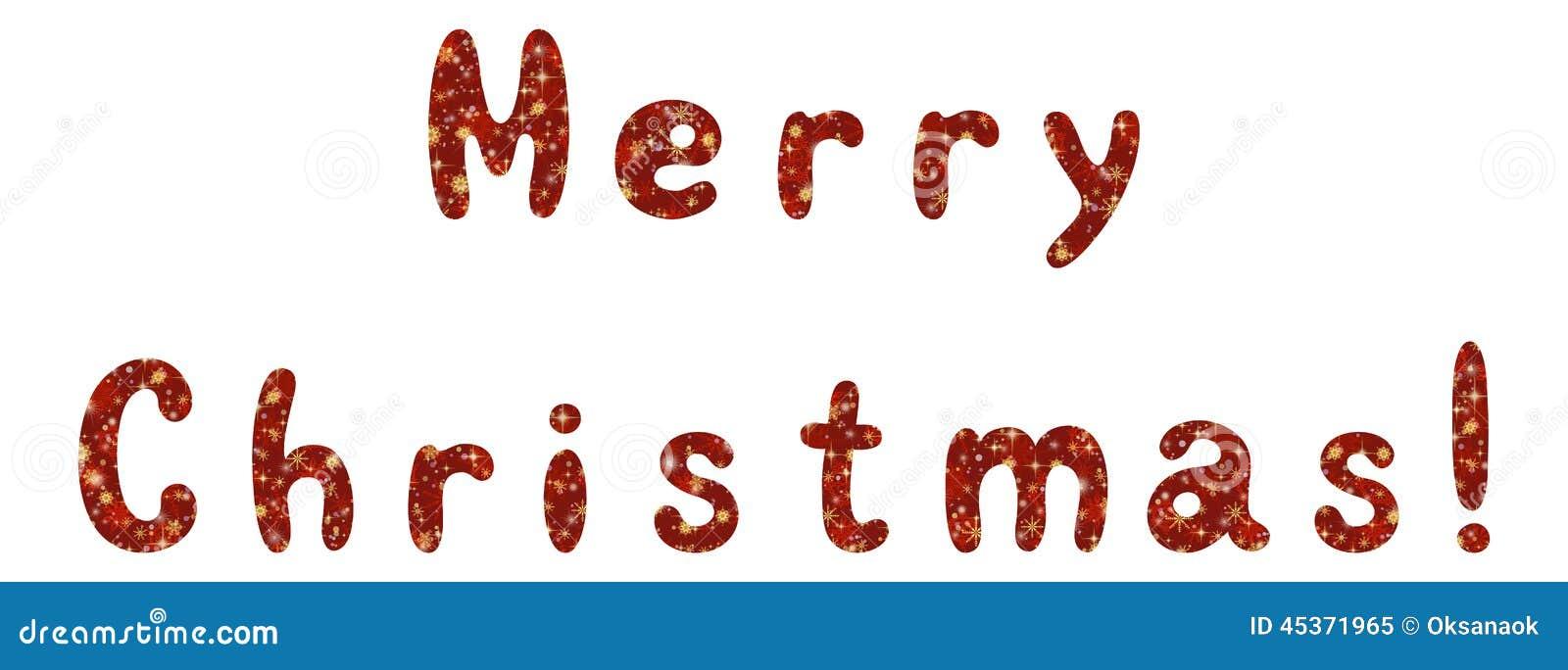 Noël de vacances de lettrage Joyeux