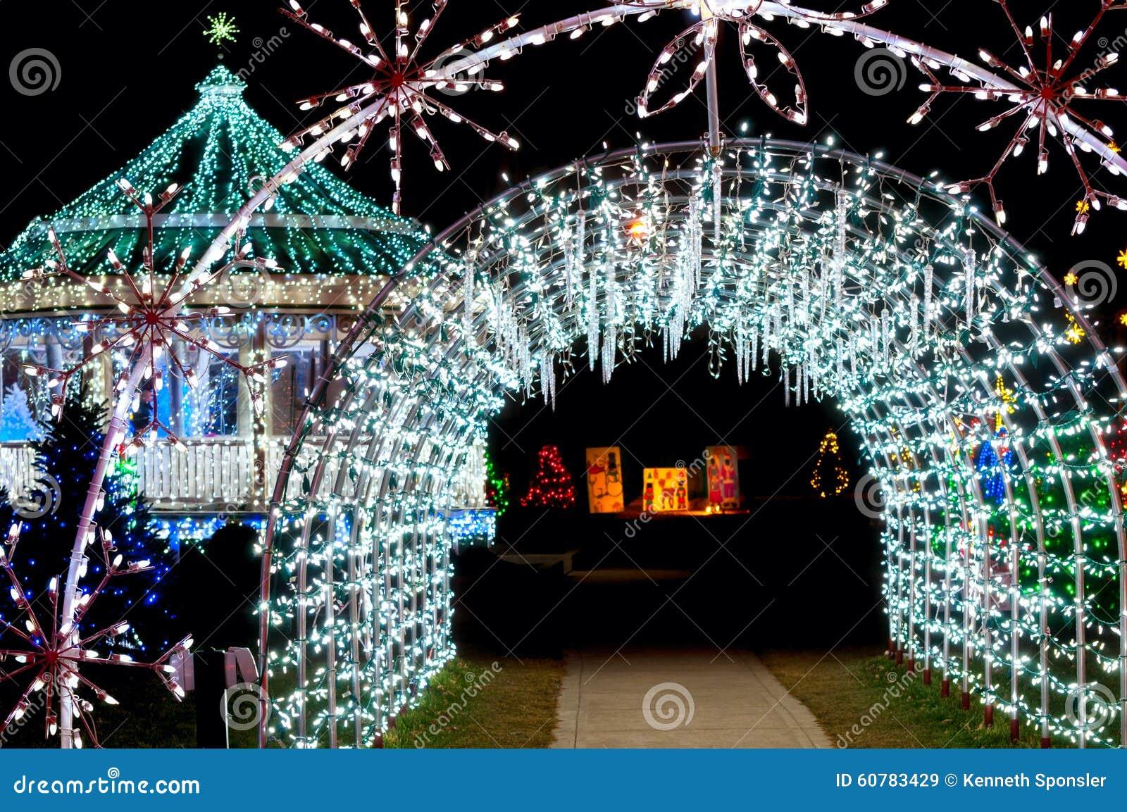 Noël léger de tunnel