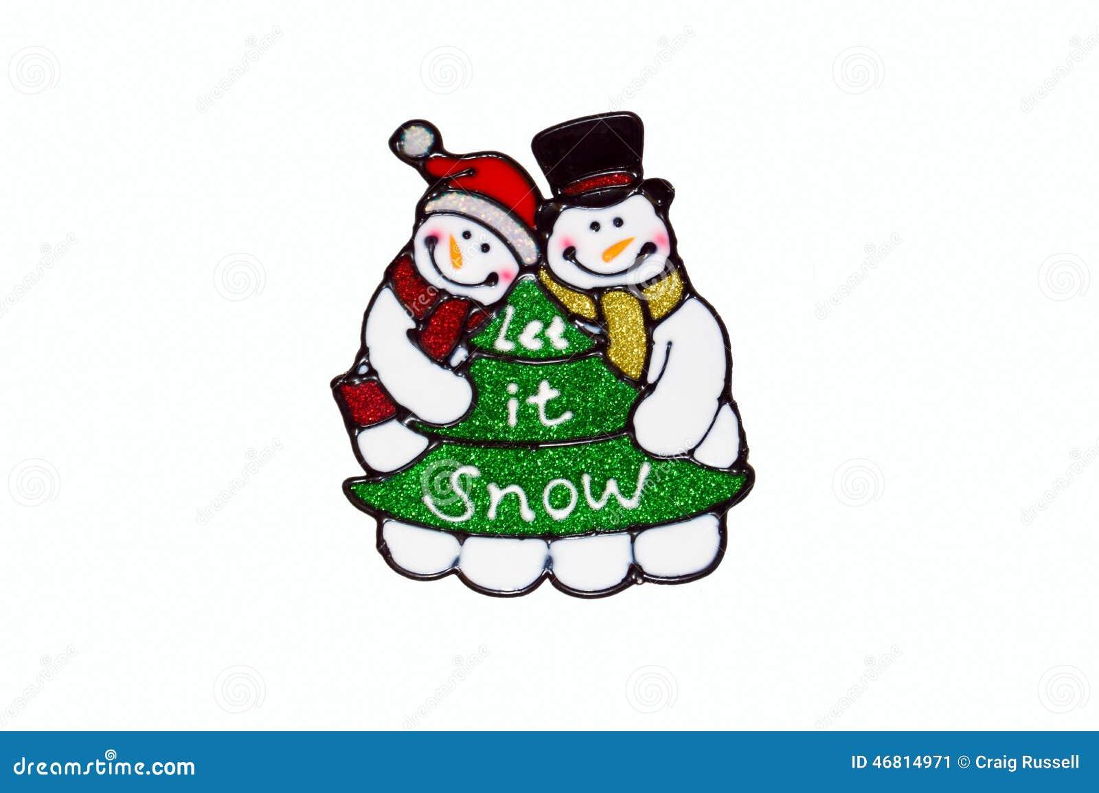 Noël Pochoir De Bonhomme De Neige Et De Fenêtre Darbre Image