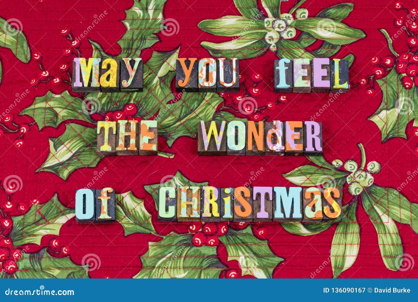 Noël se demandent la typographie de gentillesse de charité de joie