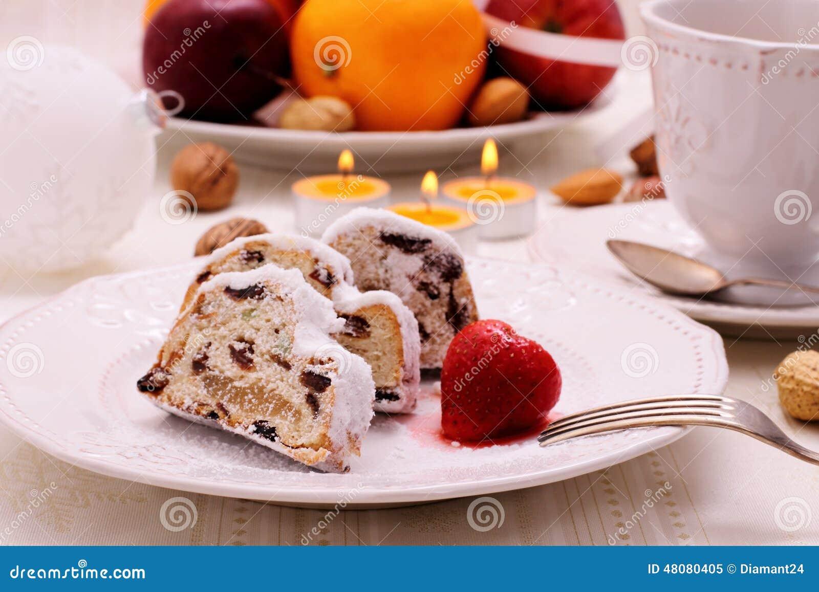 Gateau au fruit hiver
