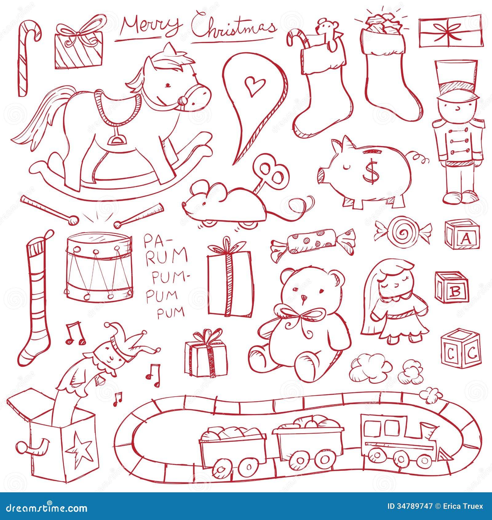 Noël Toy Doodles