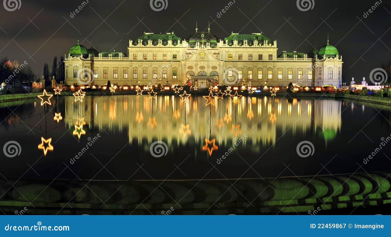 Noël viennois au palais de belvédère