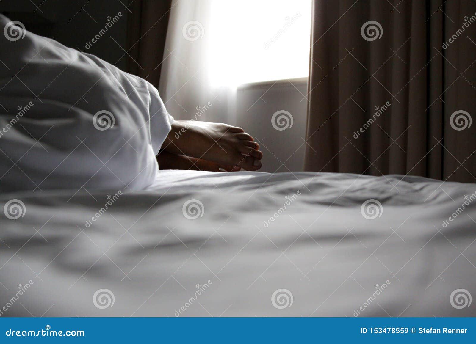 Nożny łóżko