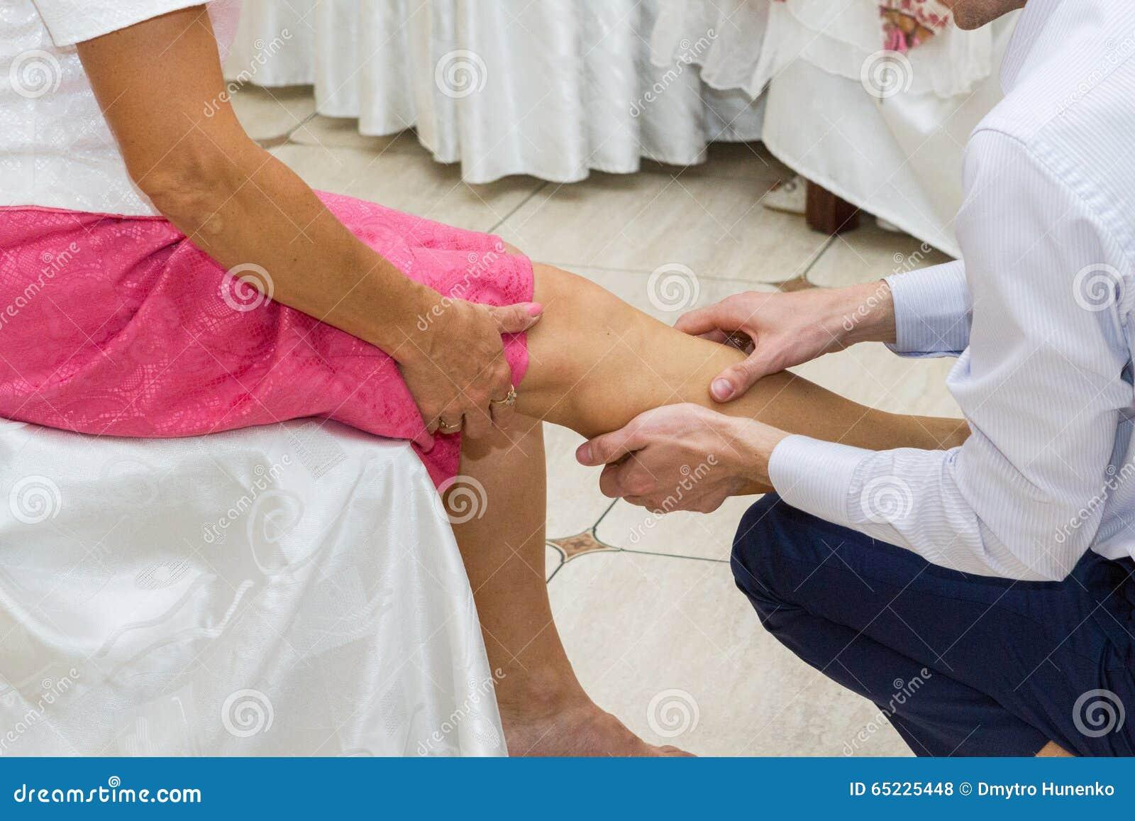 Nożny masaż