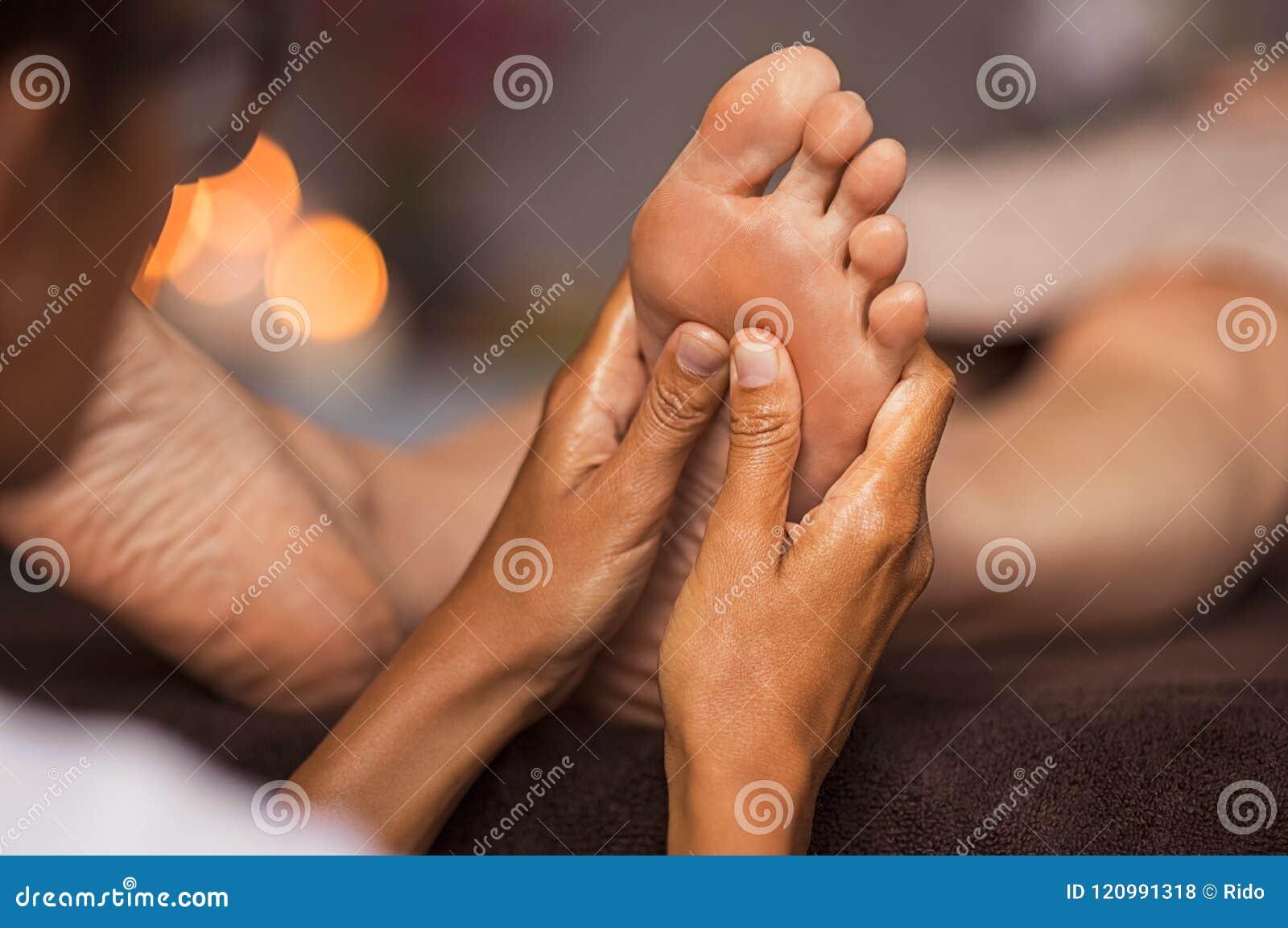 Nożny refleksologia masaż