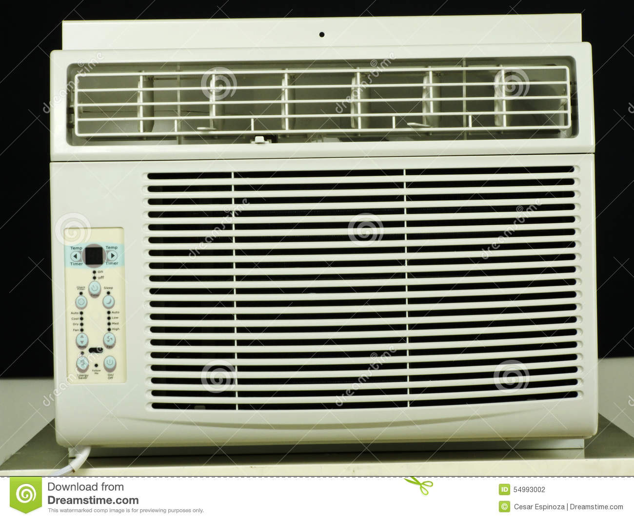 No brand windows air conditioner stock photo image 54993002 for Brand windows