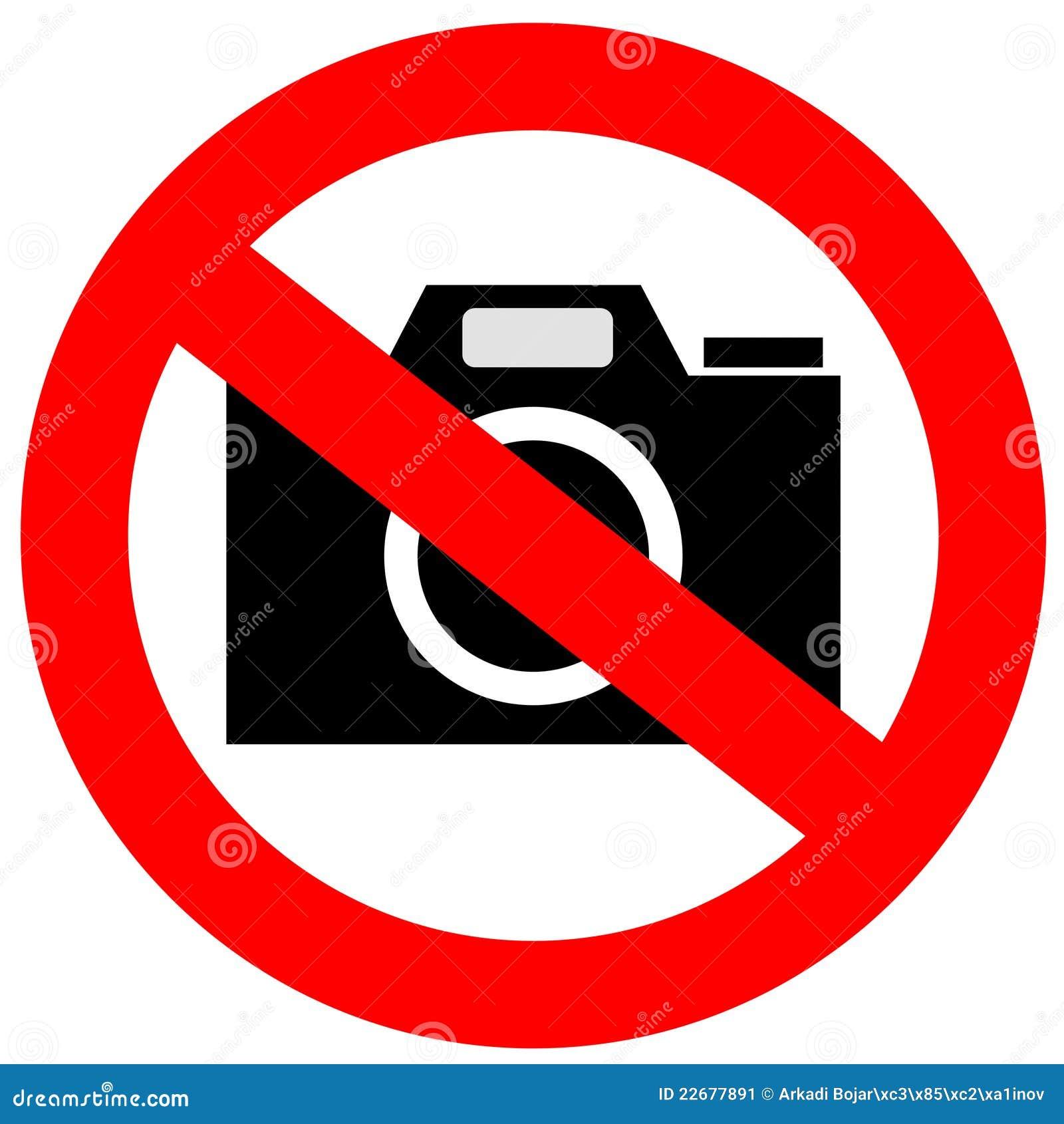 No Camera Sign Stock Image Image 22677891