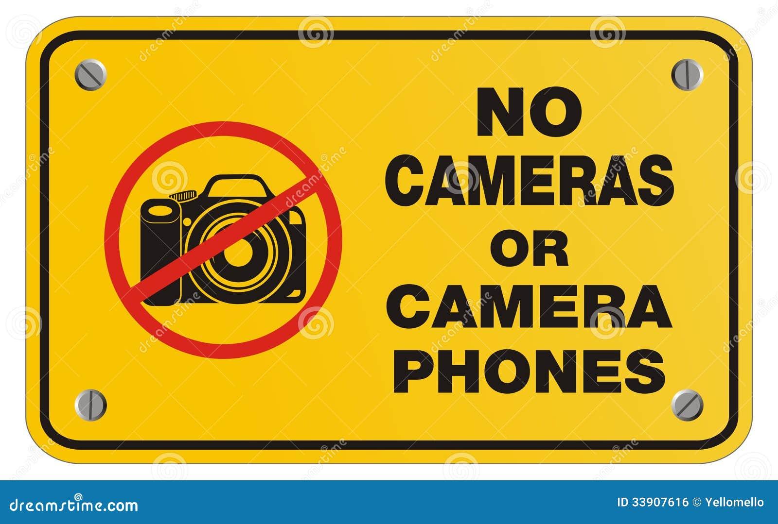 No Camera Sign Stock Image - Image: 22677891