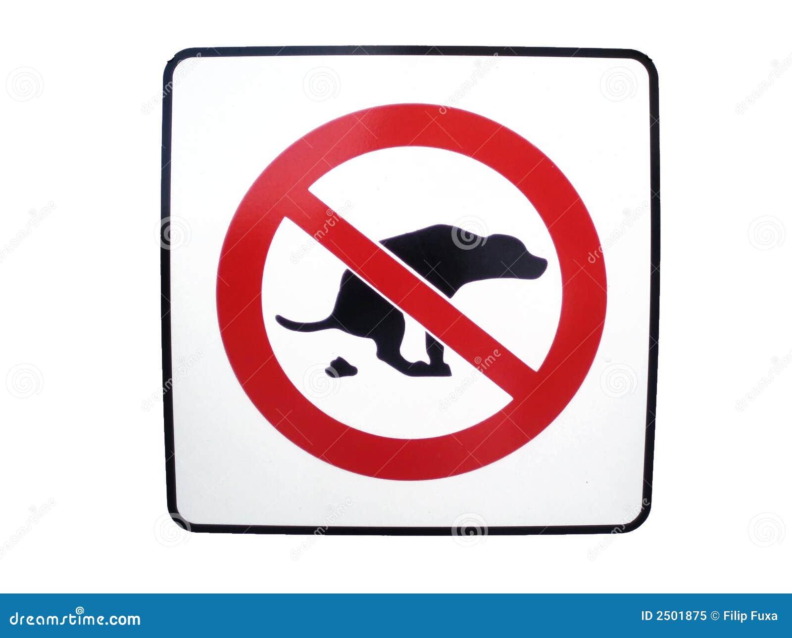 Free Dog Mess Signs