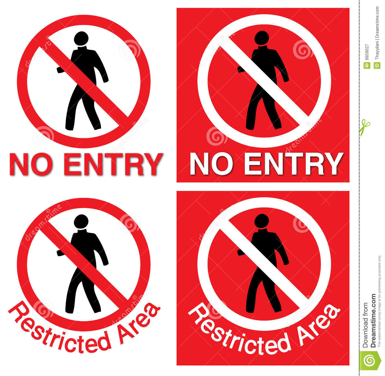 No entry restricted area stock vector illustration of areas no entry restricted area buycottarizona