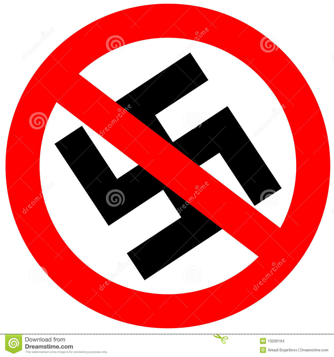 No Fascism Stock Images - Image: 13206194