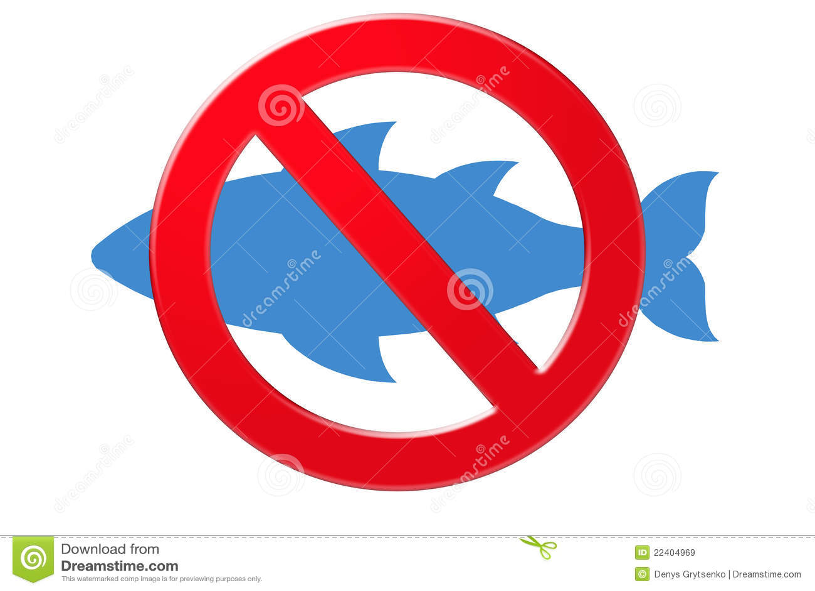 No Fishing Signs No fishing sign Royalty Free