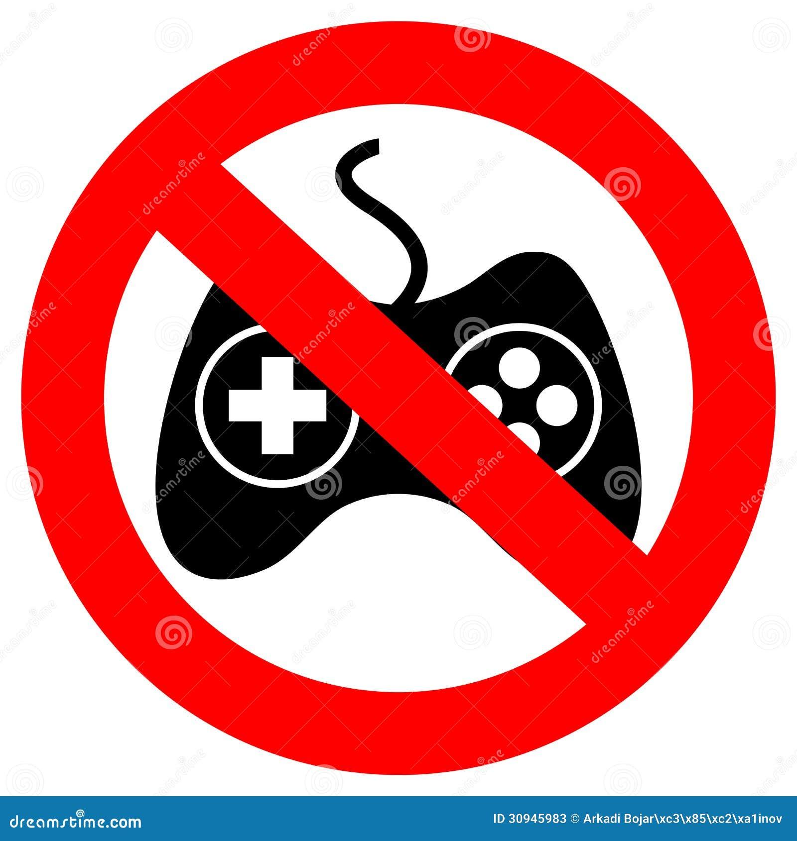 No gambling sign allen m.roulette