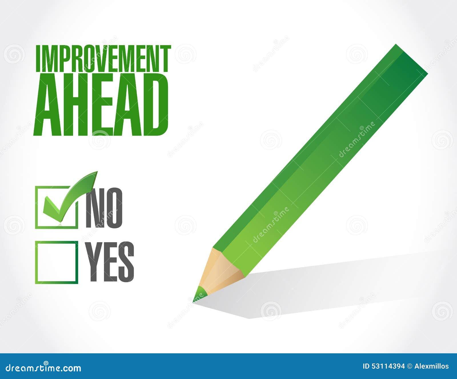 No Improvement in