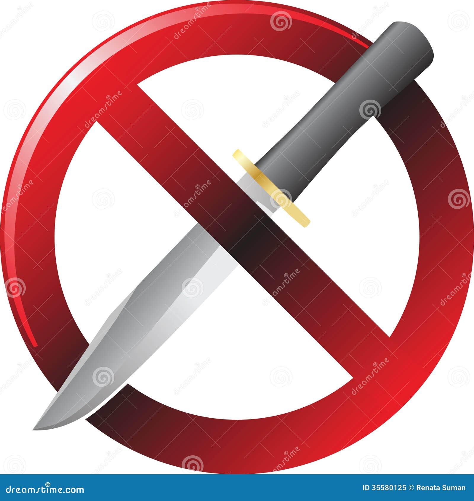 no knife sign color illustration knife and fork clipart free knife and fork clipart png