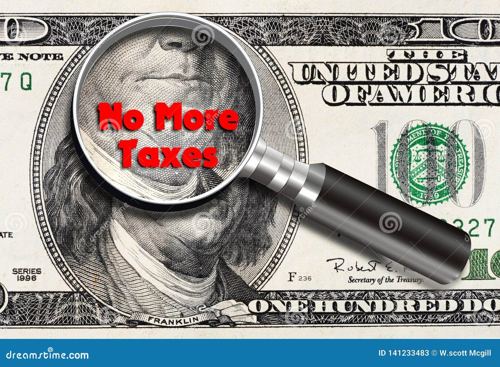 No más de impuestos
