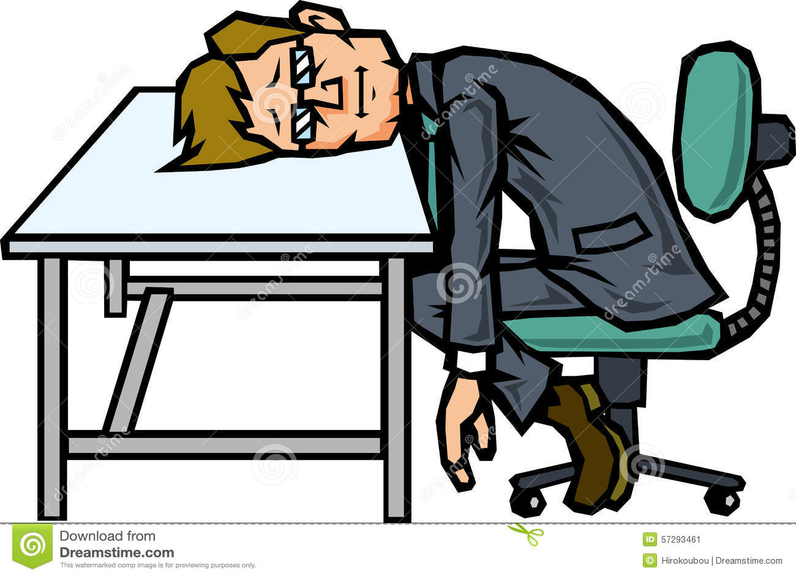 No Motivation Businessman Stock Illustration Image 57293461 : no motivation businessman to leaning desk 57293461  from www.dreamstime.com size 1300 x 958 jpeg 117kB