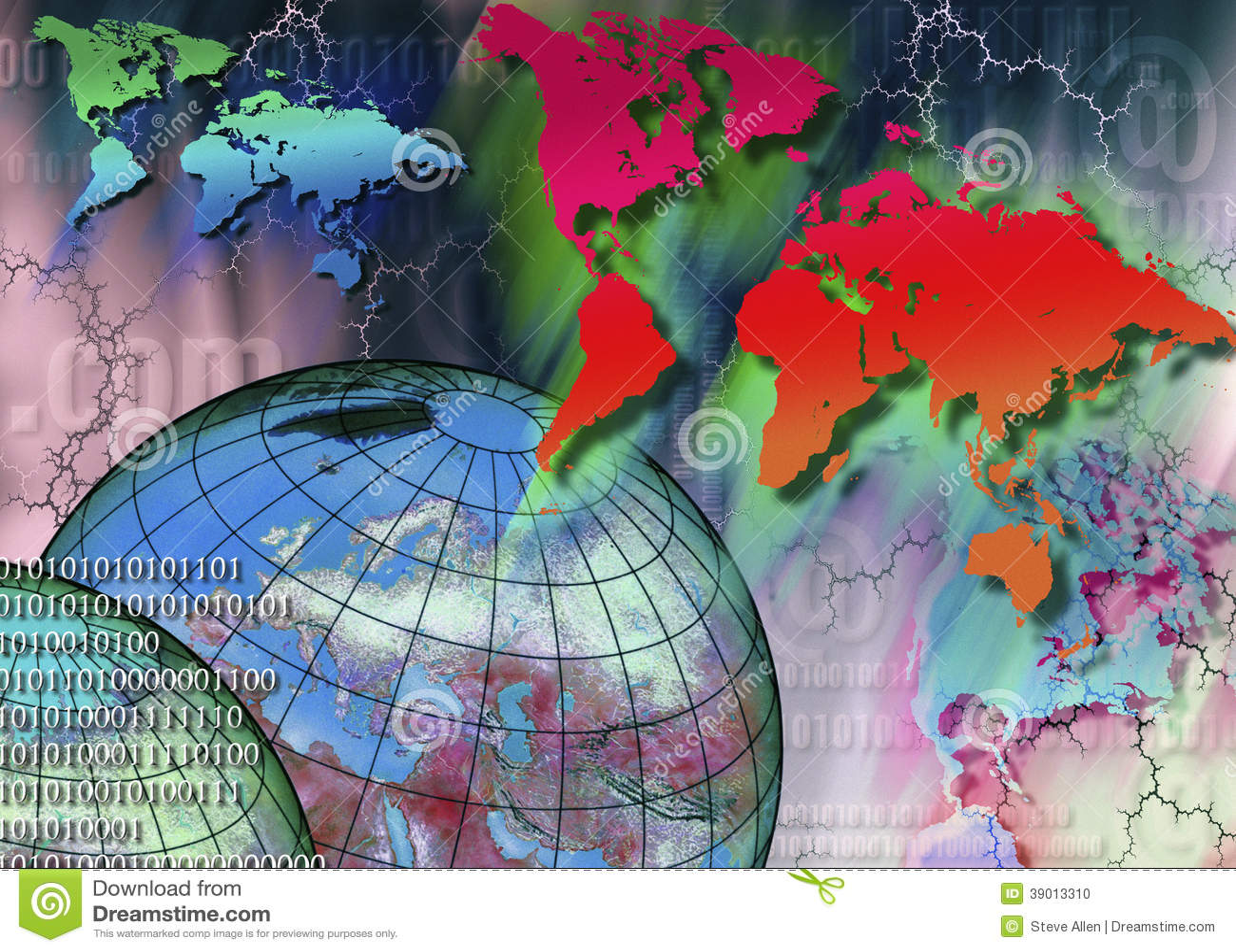 No mundo inteiro - Internet - Cyberspace