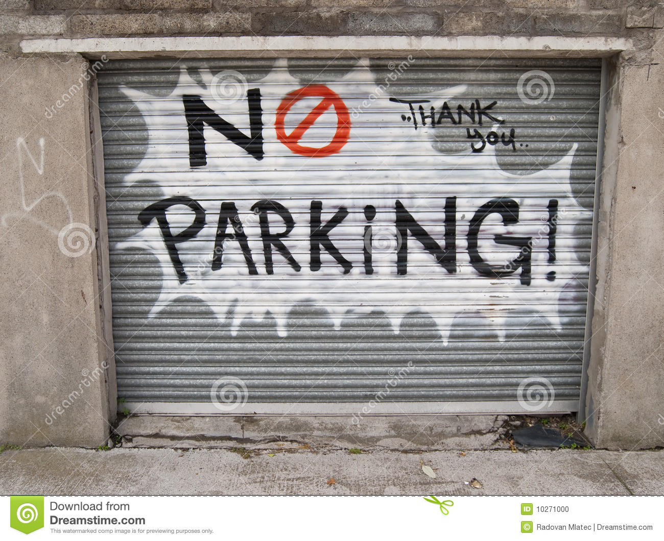 No Parking Graffiti Stock Photo Image 10271000 Make Your Own Beautiful  HD Wallpapers, Images Over 1000+ [ralydesign.ml]