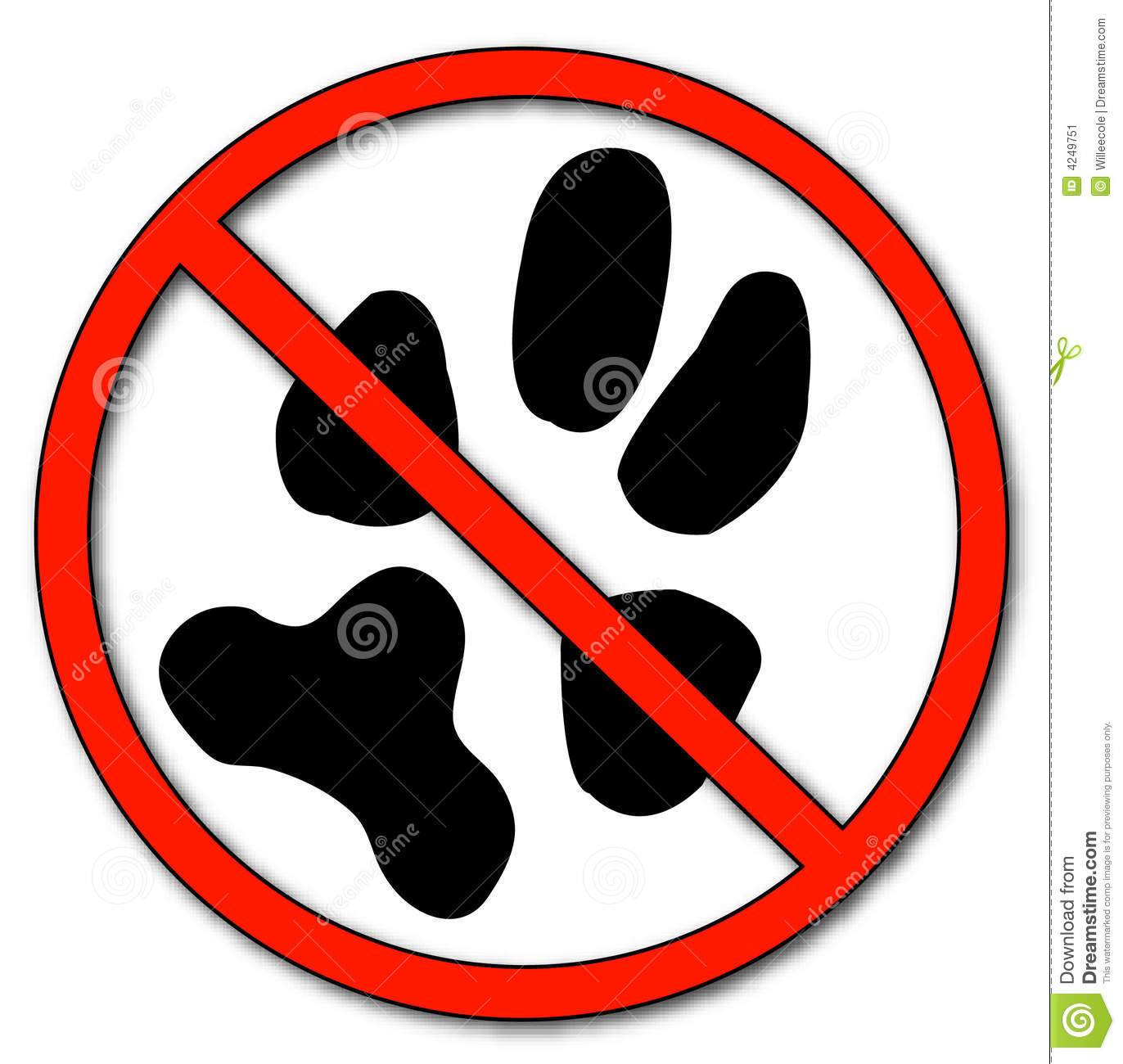 With not allowed symbol no pets allowed vector mr no pr no 3 2273 7