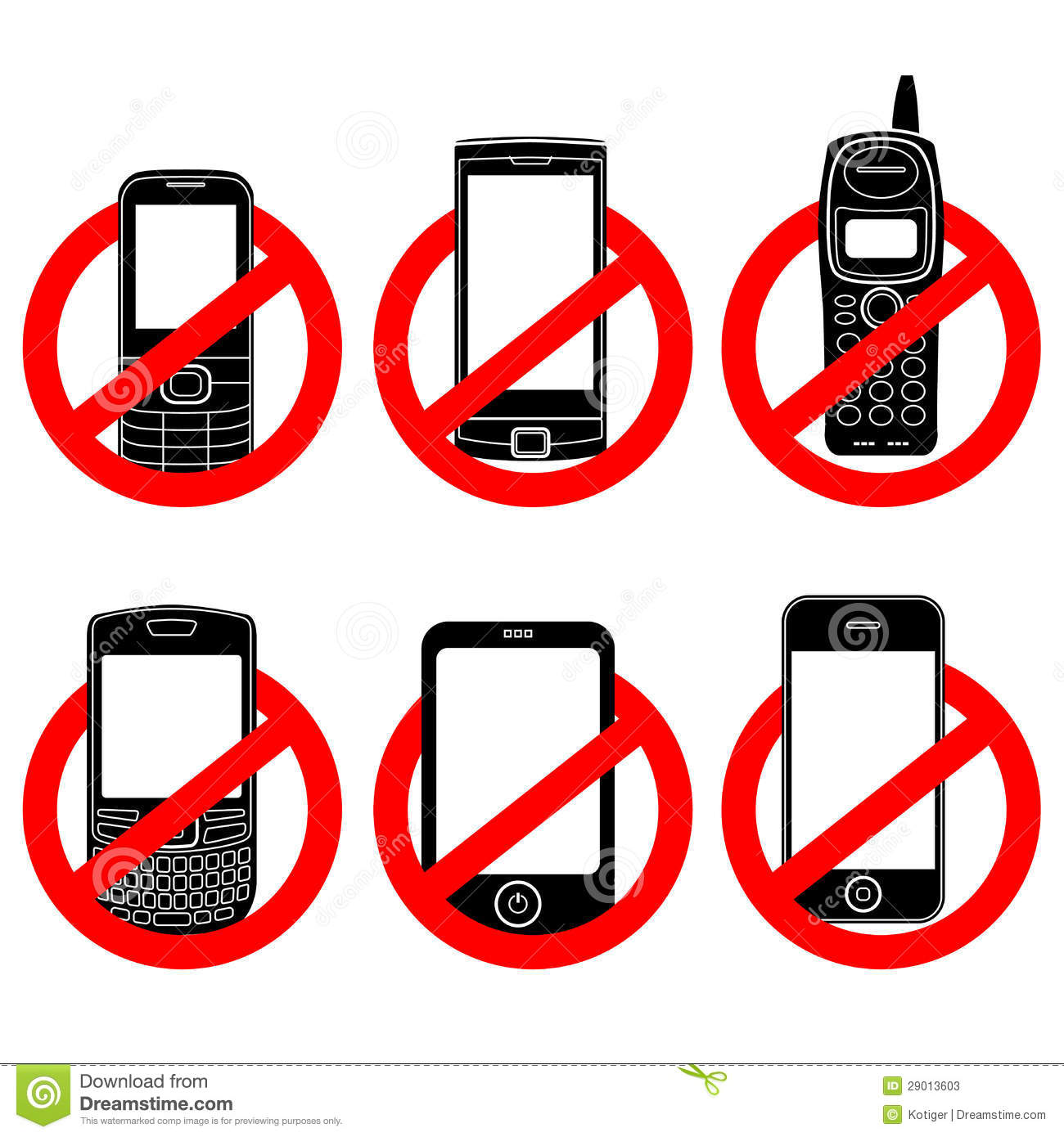 No Cell Phone Sign Stock Photos, Images, & Pictures - 198 Images