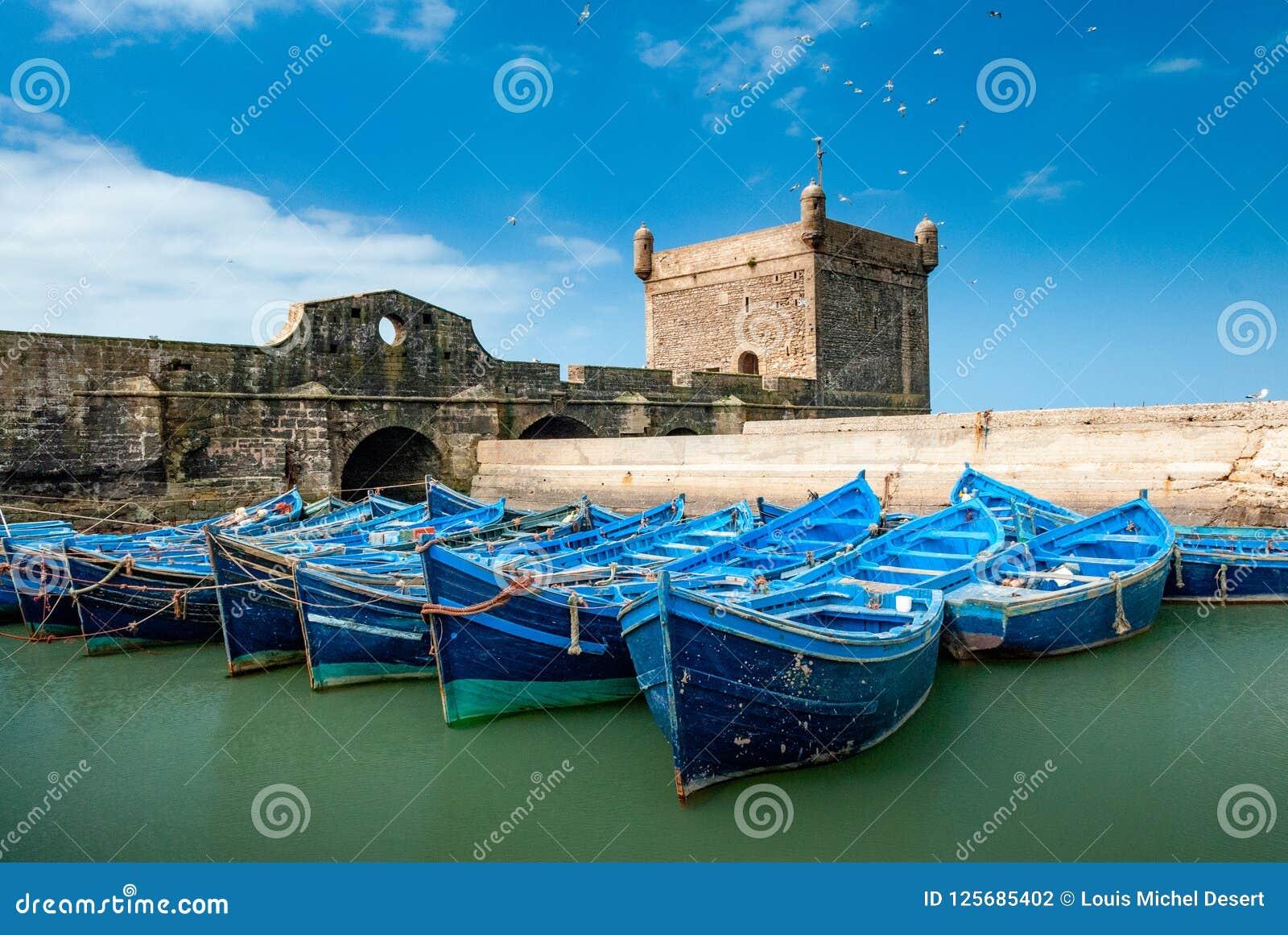 No porto de Essaouira