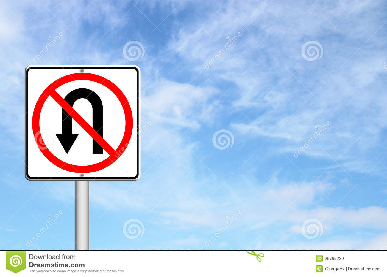 no return back road sign stock illustration illustration of