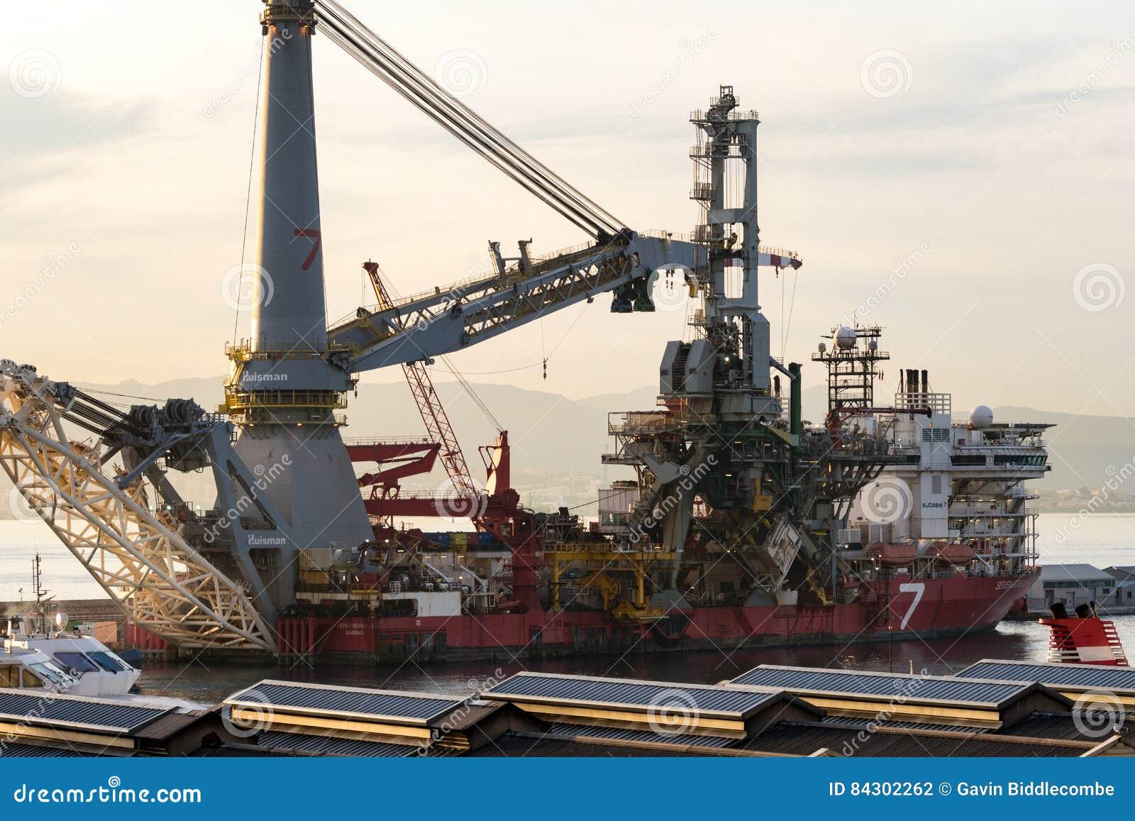 No. 7 Ship in Dock