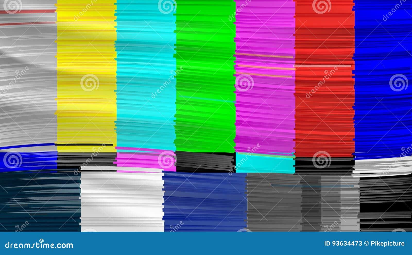 No Signal TV  Descendant Network  No Signal  Distorted Glitch TV