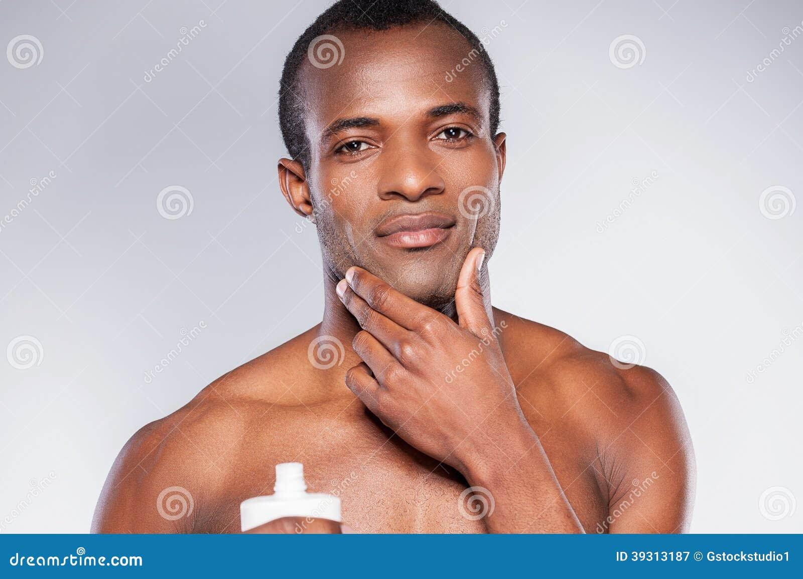 facial men Prevent black irritation in