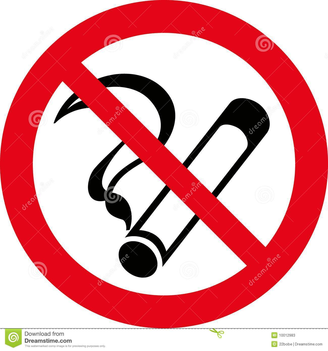No Smoking 7 (+ Vector) Stock Photos - Image: 10012983