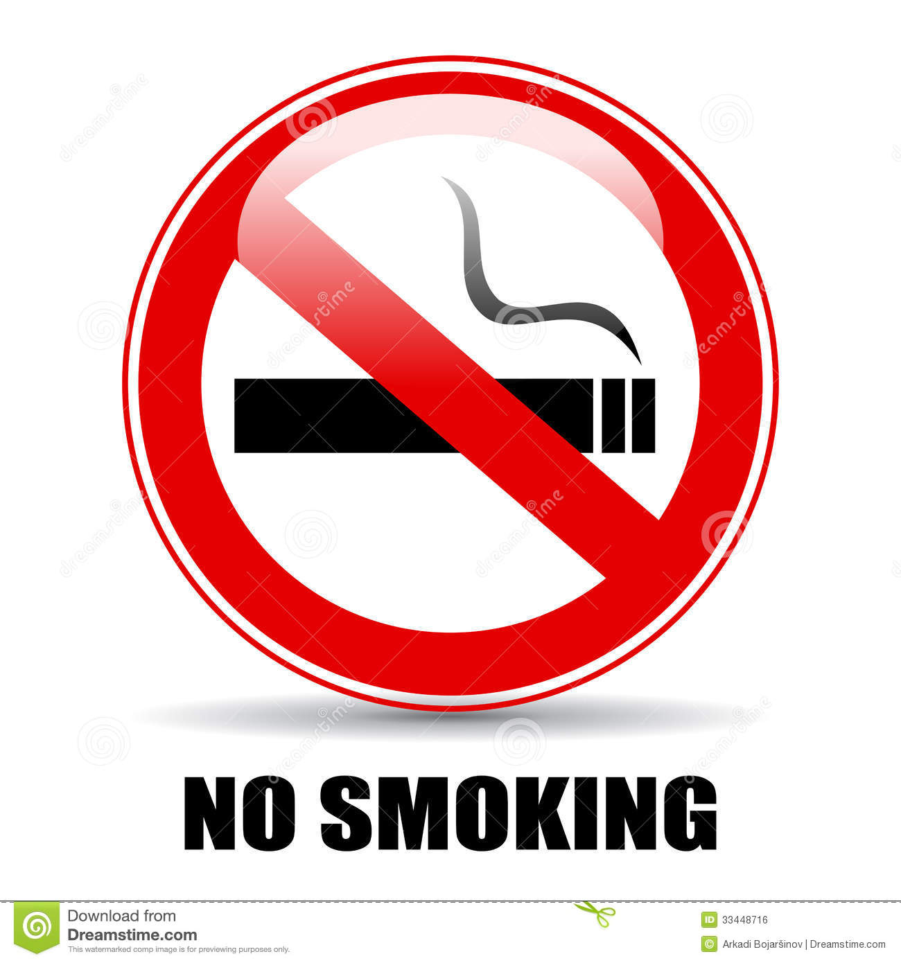 No Smoking Royalty Free Stock Image - Image: 33448716