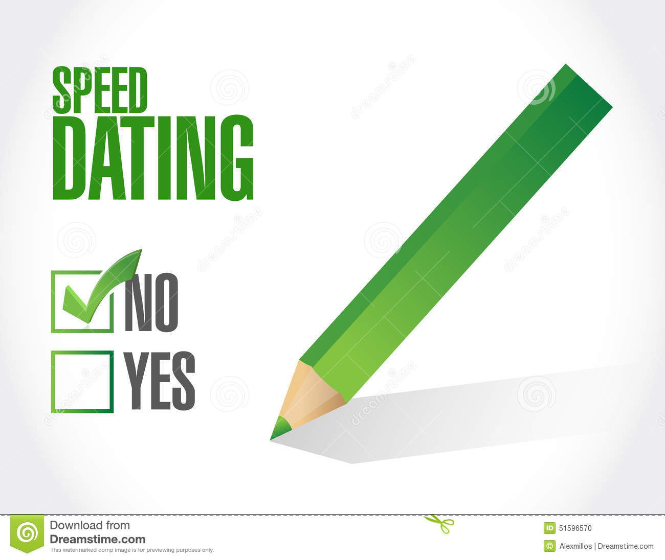 what is the concept of speed dating