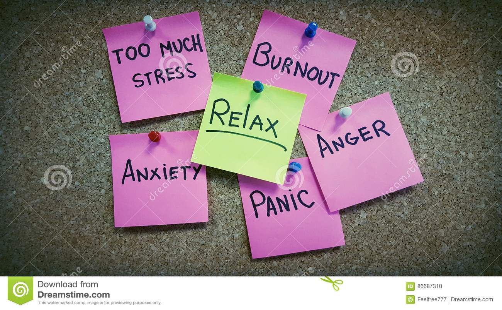 No stress psychology photography