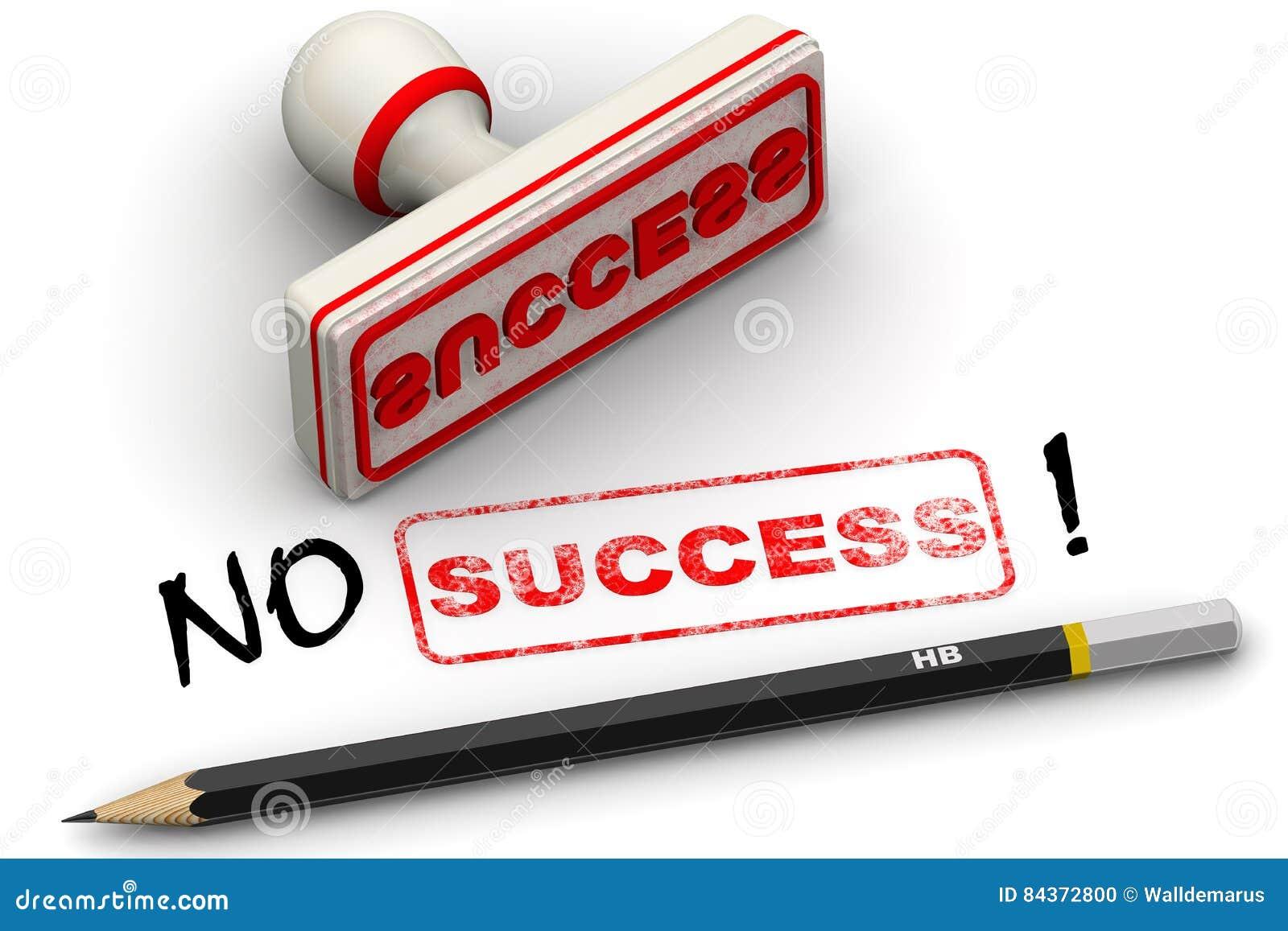 No success! Corrected seal impression