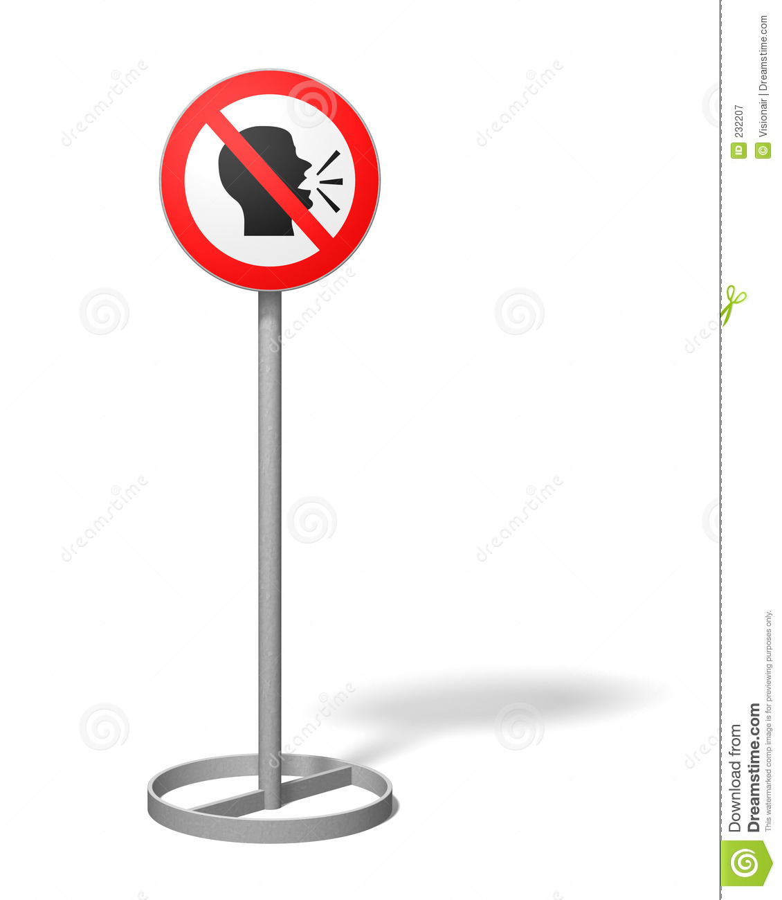 No Talking Sign Clip Art No talking